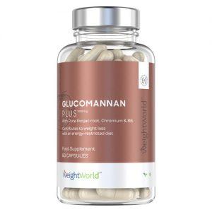 Glucomannan Plus, gélules de Konjac